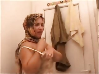 Big fat turkish bbw mature milf chubby full shave pussy