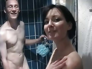 Bath with my wife