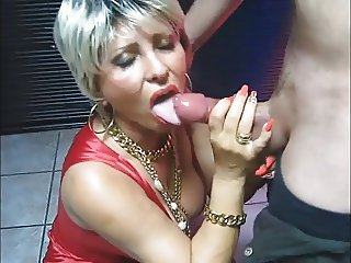 Blowjob Clothed Mature Wife