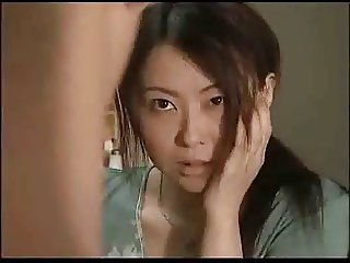 Japanese Housewife Enjoys A Good Hard Going to bed !