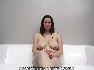 chubby big tit czech unlit fucking at casting by eliman