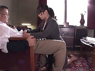 Asian Glasses  Secretary