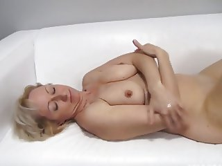 Czech full-grown amateur 49yo blowjob think the world of anal