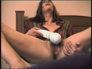 Hairy Masturbating Orgasm Toy