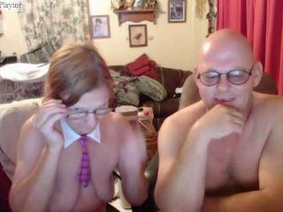 Glasses Older  Webcam Wife