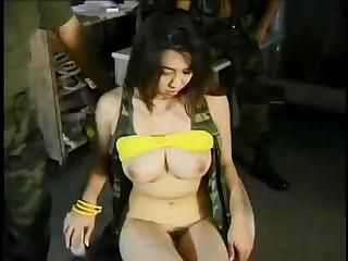 Kinky Asian Yumi Kazama gets toyed and sucks on some blarney