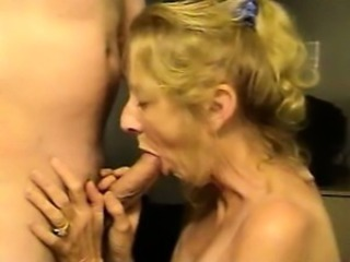 Amateur Blonde Blowjob Mature Wife