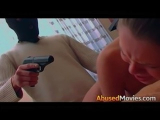 Busty Bawd Forced Anal Fucked At Gunpoint free