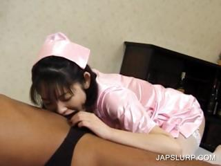Asian Blowjob Clothed Japanese Nurse Uniform
