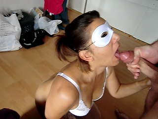 Alyshas Facial - Cum Swallowing