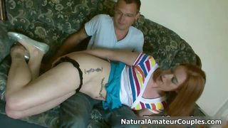 Amateur Girl Gets Spanked In Her Own