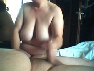 Amateur Big Tits Chubby European German Handjob Homemade  Wife