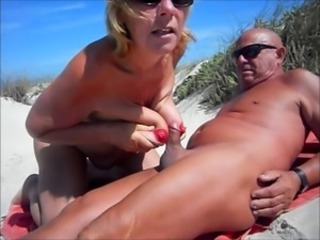 Beach Blow Job