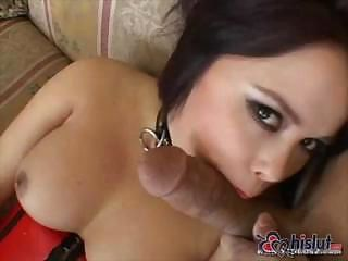 Oriental babe with nice tits gets some heavy fucking and anal
