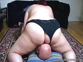Chubby mistress sits say no to big broad in the beam ass on a man's face