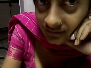 Girlfriend Indian Piercing Webcam