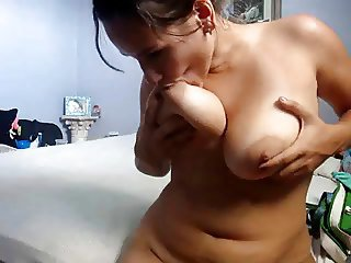 Chubby sister nipple swept off one's feet and paly