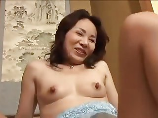45yr old Japanese Wife gets Toyed nigh Go down retreat from (Uncensored)