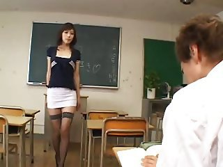 Horny japanese school - uncensored