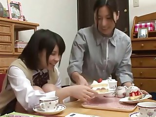 Japanese Lesbians (My daughter & her friend are studying)B