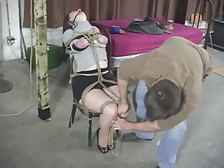 Serene Isley in a Strict Chair Tie