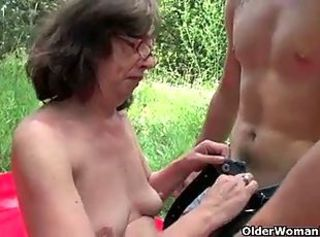 Grandma& 039;s pussy is made for fucking _: cumshots grannies matures milfs old+young