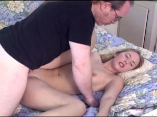 young blonde send with old ed