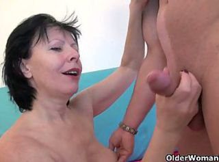 Young cock horny grannies get fucked deeply _: big natural tits mature teacher