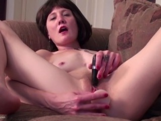 Amateur Hairy Masturbating Mature Mom Small Tits Toy