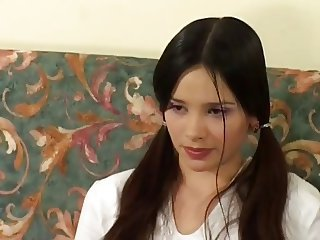 Russian Hairy Teen With Old and Young