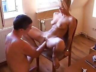 Very deep amateur fisting and fucking