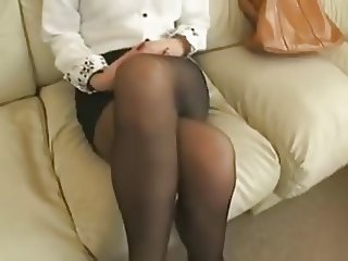 Amateur Legs  Stockings