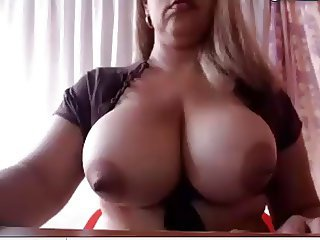 Tranny with huge titties and big cock Pt1
