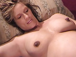 Preggo Wifey Gets 3 Accommodation billet Cocks