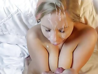 Amateur Cumshot Facial Girlfriend Homemade Pov