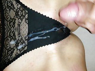 panty play cumshot with my show one's age 4