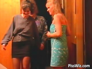Twosome horny milfs are procurement fucked part6