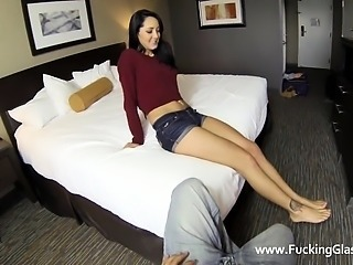 Alina has no idea the guy she fucks today has a hidden