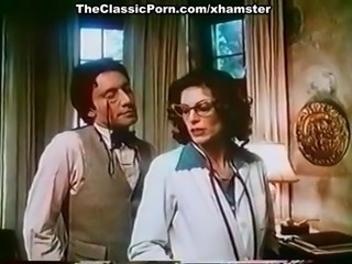 Kay Parker, John Leslie down vintage xxx bracket with great sexual congress