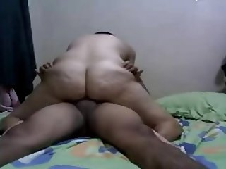 Amateur Arab Homemade Riding Wife