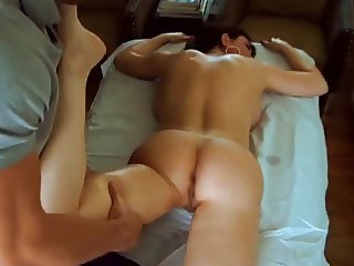 Sexy Mom Massaged hale Pounded