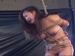 Explicit Korean rope roped and sadism