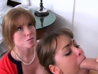 Busty milf pussyfucked before facial