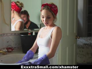"ExxxtraSmall - Petite Maid Gets Fucked For Money"" class=""th-mov"