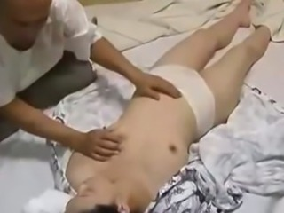 Asian Japanese Massage  Panty Small Tits Vintage