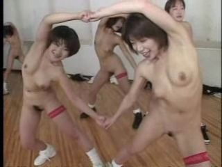 Asian Dancing Hairy Japanese  Nudist Small Tits