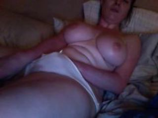Amateur Big Tits Homemade Masturbating  Wife