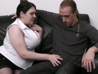 Housewife finds great female playing his meat