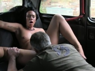 Amateur Car Daddy Ebony Interracial Licking
