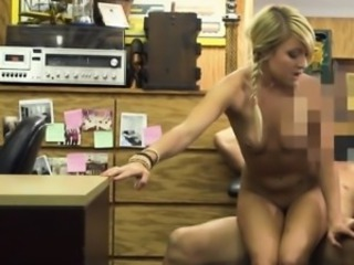 Amateur Blonde  Office Small Tits